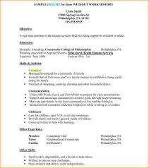 Simple Resume Examples For Jobs by Example Job Resume Resume Examples For First Job Resume Examples