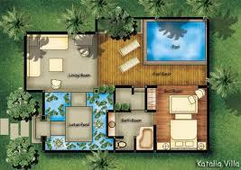 villa floor plan villa semana pool deluxe villas balinese style