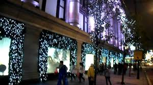 Christmas Decorations Oxford Street - london oxford street christmas decorations 2011 part 1 youtube