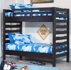 Ball State Full Over Full Bunk Beds - Extra long bunk bed
