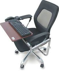 Computer Desk Without Keyboard Tray Ergonomic Chair Mount Laptop Keyboard Mouse Tray System Arm Stand