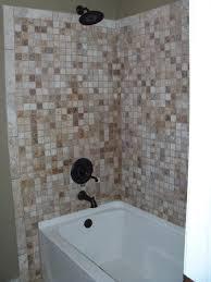 bathroom surround ideas bathroom ideas brown ceramic bathtub wall surround combined with