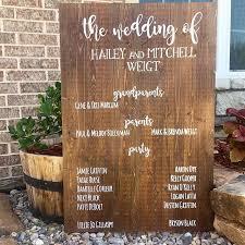 Wedding Program Board Shop U2014 One Creative Weigt