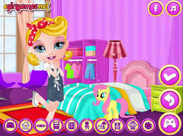 baby barbie my girly room game barbie room decoration games for