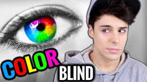 Girls Color Blind What Is It Like To Be Color Blind Youtube