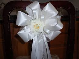 pew bows for wedding 10 ivory pew bows wedding decorations bridal aisle arch chair