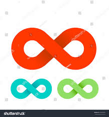 infinity sign infinity sign vector illustration stock vector 670460698