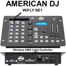 dmx light board controller american dj wifly ne1 wireless dmx light controller 15 instant