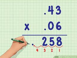 multiplying decimals how to multiply decimals 6 steps with pictures wikihow