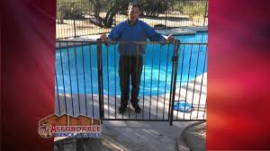 ornamental iron pool fencing by affordable fence and gates in