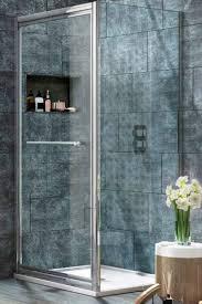 Infold Shower Door Tilemaze Shower Enclosure Suppliers