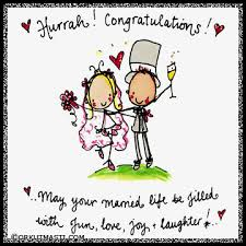 congratulations on your wedding hurrah congratulations on your wedding best wishes