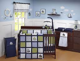 nautical design baby attractive decorating ideas using rectangular brown wooden cabinets