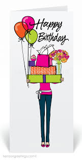 women in business birthday card 80311 custom invitations and