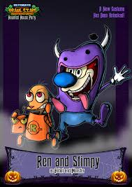 nicktoons ren and stimpy halloween costume by neweraoutlaw on