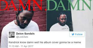 Album Cover Meme - kendrick lamar s damn album cover is already getting memed like