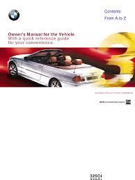 bmw e46 convertible owner u0027s manual tire anti lock braking system
