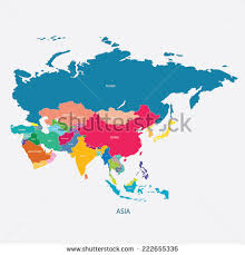 map asia asia map stock images royalty free images vectors