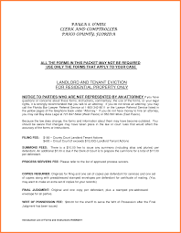 7 tenant eviction notice form notice letter