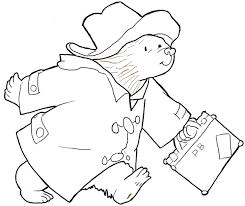 draw paddington bear book series simple drawing