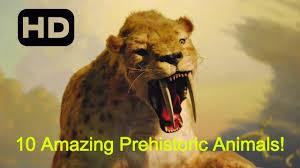 10 amazing prehistoric animals extinct