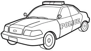 Police Car Grandparents Com Cars Coloring Pages