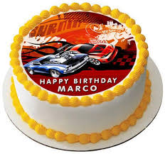 hot wheels cake toppers hot wheels edible birthday cake or cupcake topper edible prints