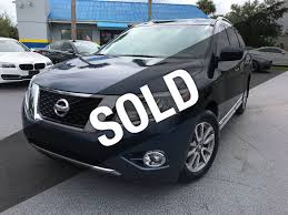 nissan pathfinder 2014 interior 2014 used nissan pathfinder 2wd 4dr sl at michaels autos serving
