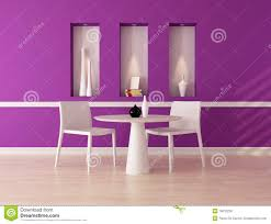 purple dining room royalty free stock image image 19010236