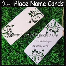 wedding wishes gift 100pcs wedding wishing tree tags flowers design place name cards