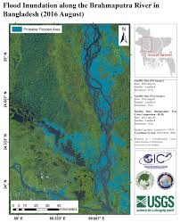 Brahmaputra River On Map Flood In Bangladesh Charter Activations International