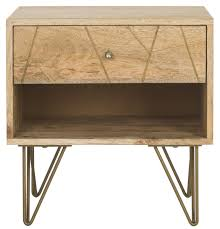 Natural Wood Nightstands Nst9001a Nightstands Furniture By Safavieh