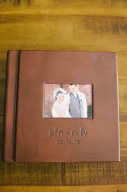 our wedding photo album our wedding album only four years late still being molly