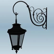 fashioned street lamp x