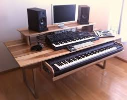 Diy Music Workstation Desk The Diy Dream Audio Production And Recording Studio Lifehacker