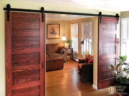 Sliding Barn Doors A Practical Solution For Large Or by Best 25 Hanging Sliding Doors Ideas On Pinterest Inside Barn