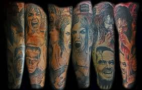 20 creeptastic horror movie tattoos horror tattoos art tats