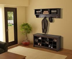 Entryway Bench With Shoe Storage Contemporary Entryway With