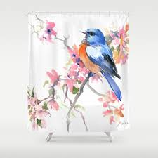 Shower Curtains Unique Bathroom Makeover Your Bathroom With Just A Single Touch With
