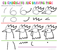 ed emberley u0027s drawing pages