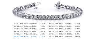 classic diamond bracelet images Classic four prong diamond tennis bracelet indian kundan jpg