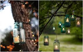 Mason Jar Wedding Decorations Mason Jar Lanterns And Candle Holders For Magical Weddings