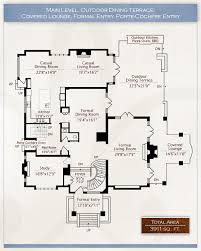 luxury estate home plans floor plans the mayfair vancouver luxury estate home