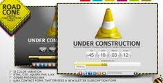 top 60 under construction and coming soon templates for website