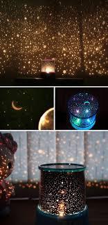 childrens night light projector starry night sky projector colorful led night light random color