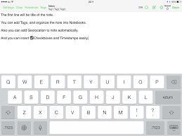 write a paper fast 11 useful ios apps for working with evernote lifenotes ios evernote fastever