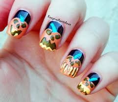 easy nail art and make up ideas october 2014