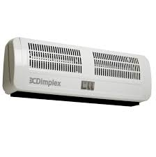electric air curtain heater for over door dimplex ac3n idea for