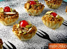 dessert canapes exquisite karanji canapes indian and indian fusion cooking in