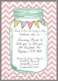 Mason Jar Baby Shower Ideas Mason Jar Baby Shower Invitations Theruntime Com